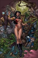 vampirella colors by cakes
