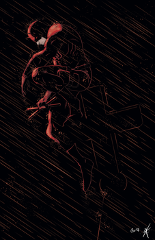 Daredevil Colours by giantboydetective