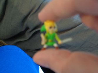 Toon link minifigure by spikerules64