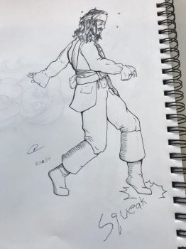 Jack Sparrow for Inktober by kittyreader99