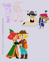 Doodlesss by socksandbuttons