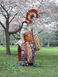 Maiko photoshoot by GothicLionheart