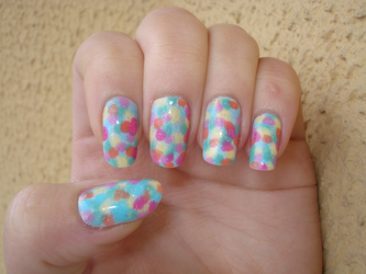 Candy Nails by doesyourmotherknow