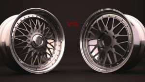 Style 5's vs. BBS LM's by DaveCox