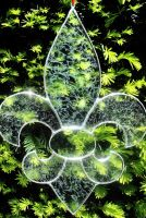 Stained Glass Fleur de Lis by bigblued