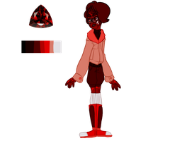 Pyrope [COMMISSION+CUSTOM] by SmasherlovesBunny500