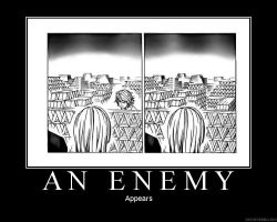 An enemy appears by the-chosen-pessimist