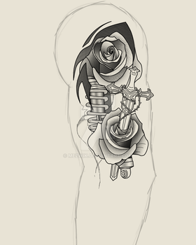 Start of arm sleeve commision