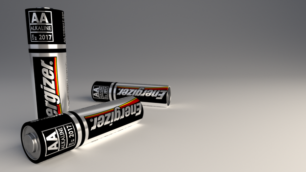 AA Energizer Battery by RegusMartin