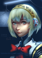 Aigis Portrait by lashialee
