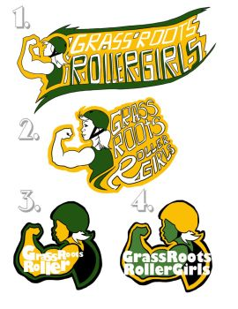 Roller Derby Logo Concept by Mr-Tibble