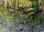Tracy Butler Bluebell Glade by tracybutlerart