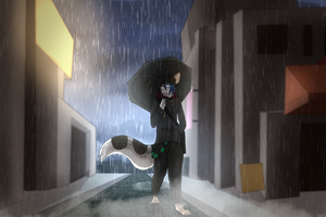 Rainy Days by DemonicNote