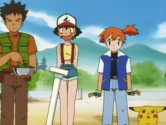 Ash and Mistys expression about beeing headswapped by SwappyShira