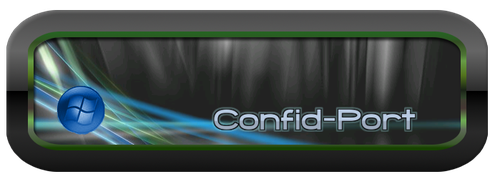 Confid-Port logo by HelenaZF