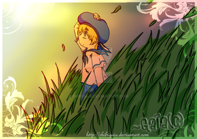 APH- Sealand's Twilight by ChibiGaia