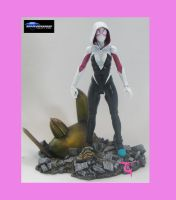 Marvel Select Spider-Gwen by BLACKPLAGUE1348