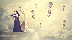 Symphony Above The Clouds by herlyks