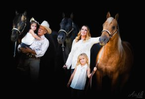 Covarrubias Family Portrait by DancesWithPonies