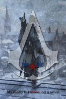 Ac3 mini poster - My enemy is... by shatinn