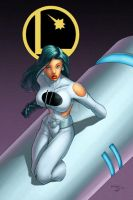 Phantom Girl by GarryHenderson