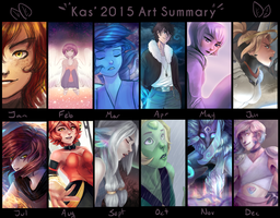 2015 Art Summary by Kastraz