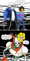 Undertale Possession AU by TemBrook