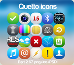'Qetto' icons part 2 by Ampeross