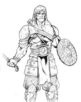 Conan the Victorious by antmanx68
