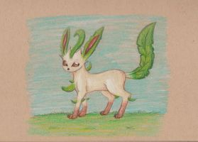 Leafeon by Louisetheanimator