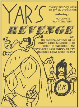 Band Flyer by Yarrum
