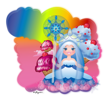 Candyland - Queen Frostine by DJLAZA