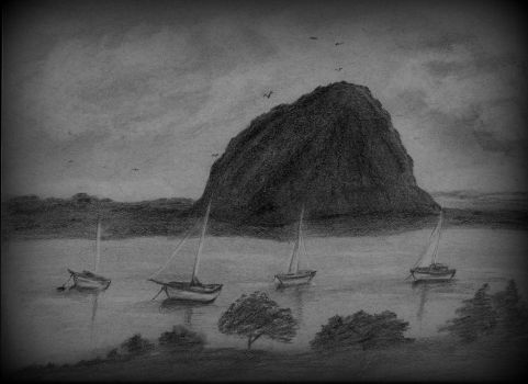 Morro Rock by RebelBMW