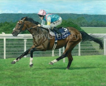 The Mighty Frankel by AmyGreenArt