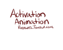 Activation Animation by Rubilight