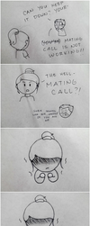 Me and OC (short comic 2) by mikeemee16aa