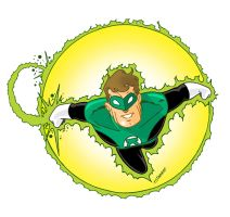 Green Lantern by SURFACEART