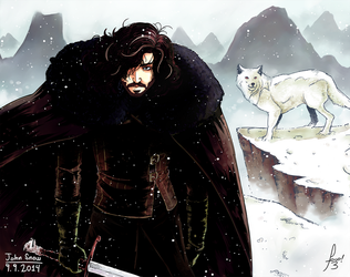 John Snow en Colores by Focoxxx
