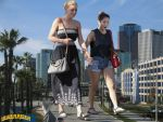 Giantess Brenda and Alyson by lowerrider