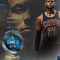 2017 NBA Finals Game 5 Cavs vs Dubs by YaDig