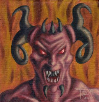 Satan, The King Of The World by TAYLOR9