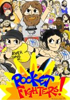 WWE Pocket Fighters by Shinkumancer