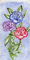 Three Roses - 2001 by B-Richards