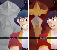 snapchat au by aacetrainer