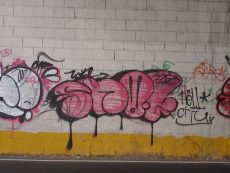 hell city throwups by snot2dk
