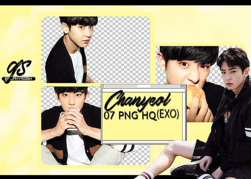Pack Png #02 - EXO Chanyeol galaxysign by galaxysign