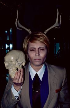 Hannibal Lecter Swiggity Swag I'm A Stag [NBC] by Manic-Michi