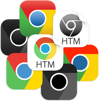 iOS style Google Chrome icons by ChilliTrav