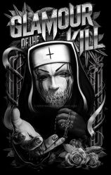 Glamour of the Kill  Evil Nun Shirt by kitster29