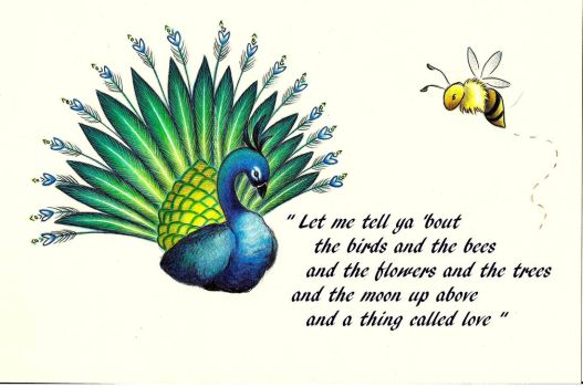 About the birds and the bees: I by l-zee